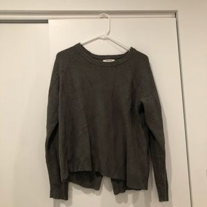 Madewell Sweater Open Back
